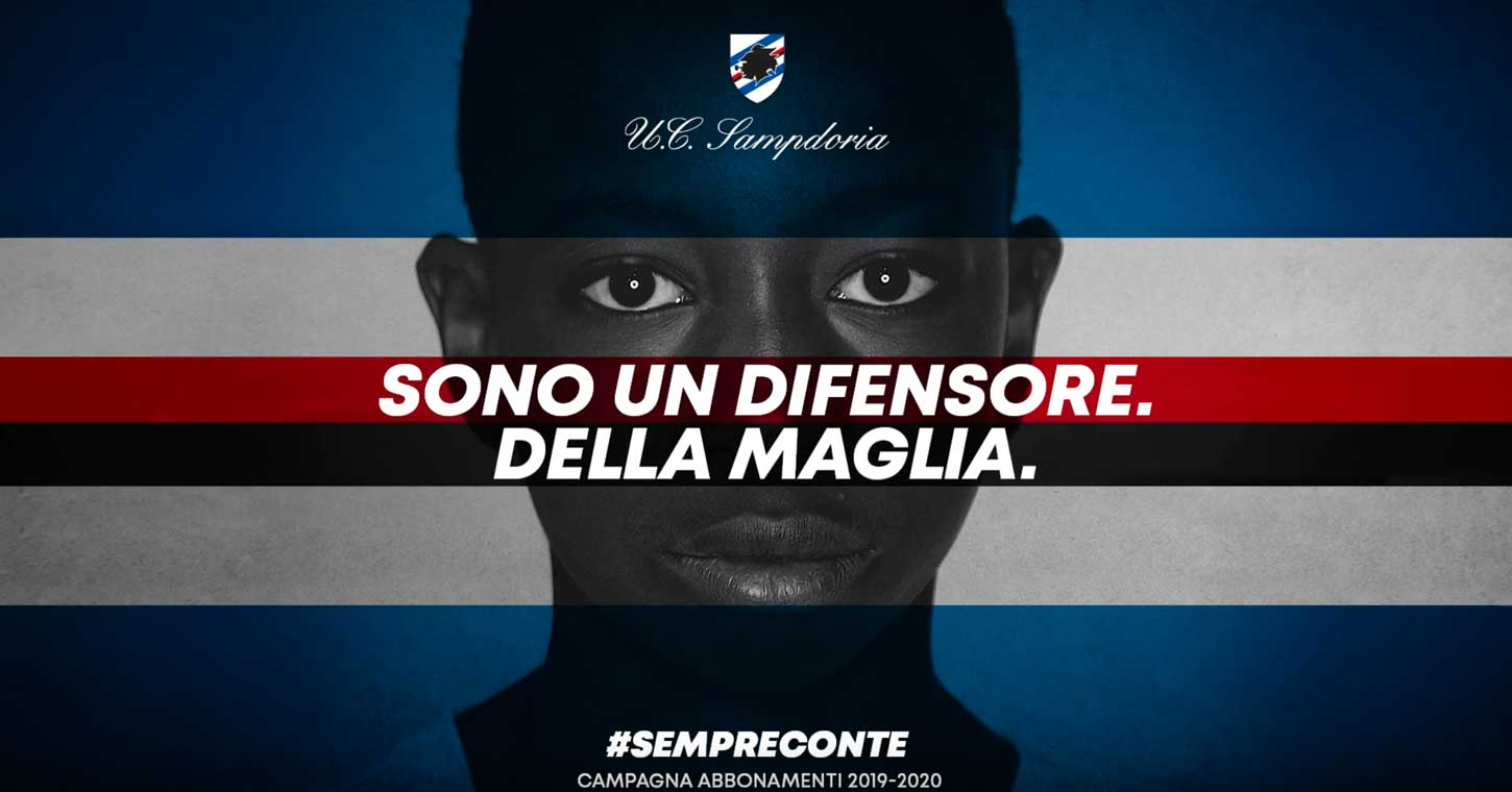 Sampdoria-campagna-2019-2010-video